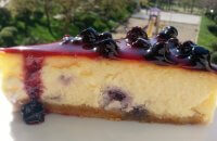 Yaban Mersinli Cheesecake